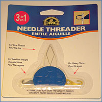 An All Stitched Up needlepoint accessory -  needle threader tool