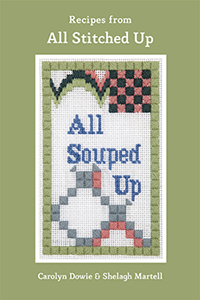 All Souped Up published by All Stitched Up the needlepoint experts and sellers of kits