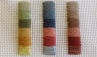 4-Way Tulips Needlepoint colour schemes from All Stitched Up