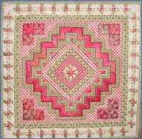 Needlepoint Morroccan Tile design