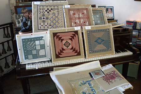 A photo taken at one of All Stitched Up's Needlepoint Open Days